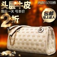 Genuine leather women's handbag 2014 fashion trend of the fashion vintage chain small cowhide women's bags