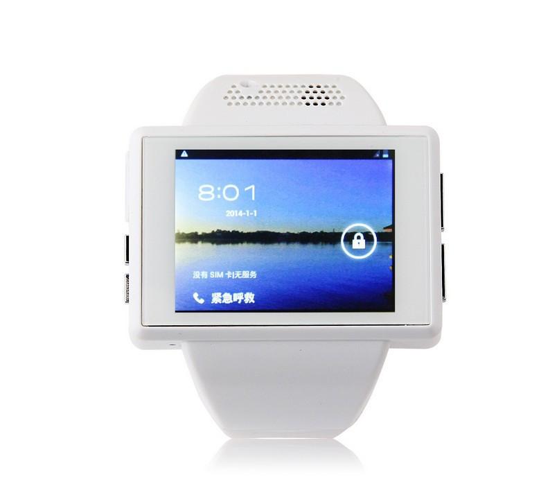 An1 Black, 2.0 inch Android 4.1.1 Smart Watch Phone, MTK6515M 1.0GHz, RAM 512MB ROM 4GB D6 U8 F3 GV08 N388 Q5 Christmas Gifts(China (Mainland))