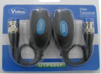2 Pairs Passive Video Balun Transceiver with 5MHz Maximum Transmitting Band(China (Mainland))