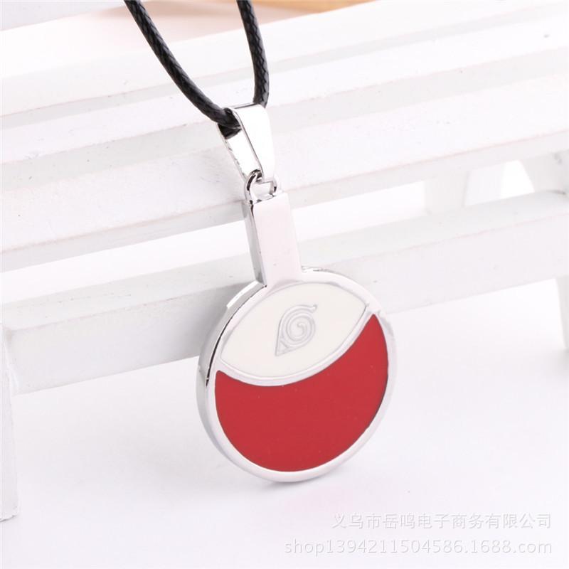 Naruto Uchiha Logo Necklace Sasuke Itachi Family Figure Pendant Cosplay Toy Jewelry Accessories(China (Mainland))