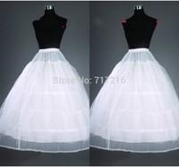 In Stock 2014 Hot sale 3 Hoop Ball Gown Bone Full Crinoline Petticoats For Wedding Dress Wedding Skirt Accessories Slip