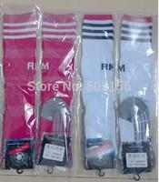 2014/2015 Thai quality Real Madrid home white away pink socks original towel bottom 14-15 Real Madrid home away socks for james