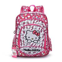 Christmas gift Good quality hello kitty children school bags teenage girl backpacks cartoon school backpack for girls