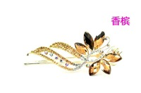 hair accessories ryhinestone hairgrip high quality