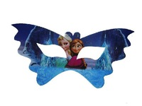 NEWEST FROZEN Kids Party Supplies Frozen Party Mask 17*8cm Princess Elsa & Anna Mask For Girls Birthday Party