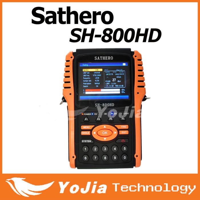 1pc Original Sathero SH-800HD DVB-S2 Digital Satellite Finder Meter USB2.0 HDMI Output Satfinder HD with Spectrum Analyzer(China (Mainland))