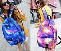 Fashion Colorful Star Girls Women Backpacks Travel Rucksack School Bag Satchel Free Shipping by DHL 40pcs/lot