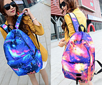 Fashion Colorful Star Girls Women Backpacks Travel Rucksack School Bag Satchel Free Shipping by DHL 40pcs/lot