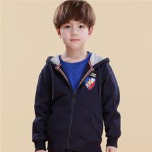 2014 New Free Shipping Cotton Long Sleeve Kids Sweatshirt Frozen Boys Outwears(China (Mainland))