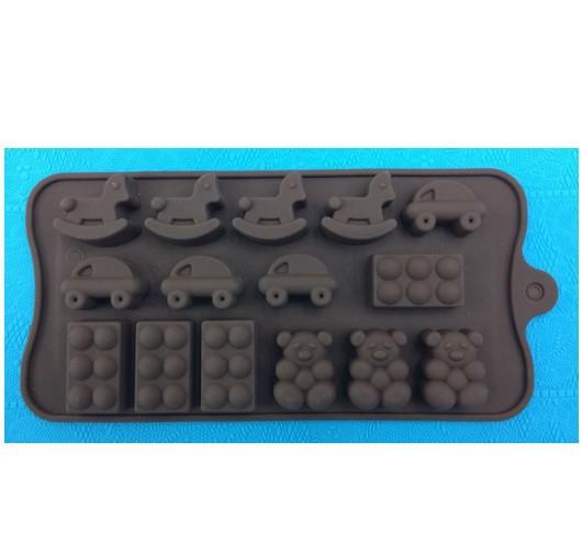 fábrica de silicone chegada atacado novo cavalo, urso, bolo de forma redonda molde do chocolate geléia molde bakeware bolo moldes(China (Mainland))