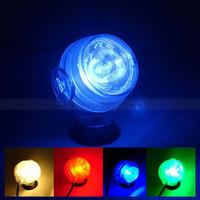 New Colorful Mini LED Spotlight Aquarium Fish Tank Plant Light Underwater Lamp