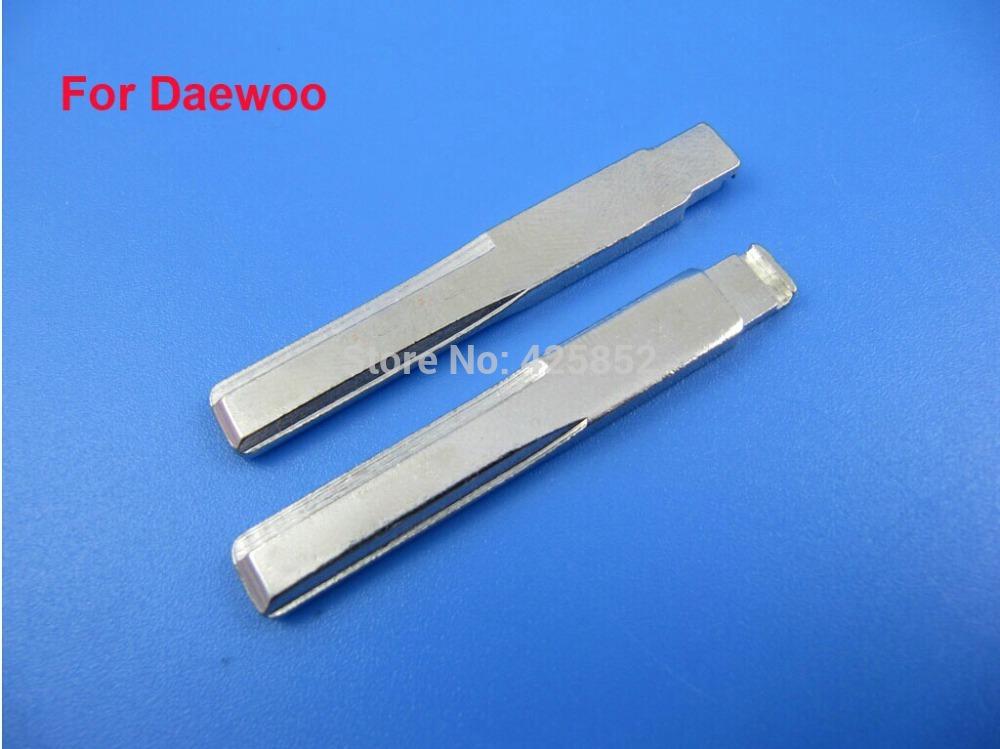 Top Quality 1 Key Blade Daewoo, Car Blank Replacement Key Blade, 50PCS/Lot(China (Mainland))