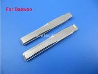 Top Quality 1 Key Blade Daewoo, Car Blank Replacement Key Blade, 50PCS/Lot