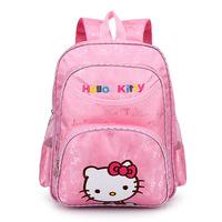 Free ship New arrival oxford waterproof children school bags Hello kitty backpack Kids school bag Fashion bag for girls1-3 grade