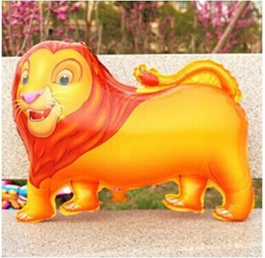 Venda de alumínio leão animais flutuante bola de ar balão de ar brinquedos infantis atacado flutuante(China (Mainland))