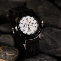 Retail free shipping New fashion fiber braid quartz watch relogio masculino high quality relogio
