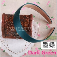 Free Shipping Womens Wide Craft  Headband Hair Band Accessories Without Teeth 7 Colors [3.5 61-1056]