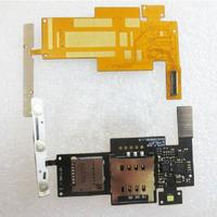 TF SIM Card Holder flex cable for Optimus Black P970