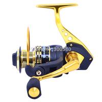 TOKUSHIMA  Metal Spinning Fishing Reel 12BB SA5000 Dual Bearing Sea Saltwater Wheel Ratio 5.5:1 Pesca Free shipping