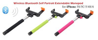 Bluetooth wireless monopod phone monopod handheld holder handheld camera tripod for Over IOS 4.0 Android 3.0 Smartphone Z07-5