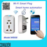 smart  tomada smart home automation Wifi Socket/plug adapter control via Smartphone/tablet