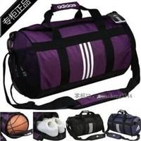 Travel shoulder bag men's and women's basketball cylinder sports fitness portable inclined shoulder bag