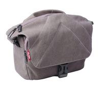 L Size Waterproof Camera Nylon Case Shoulder Messenger Bag + Rain Cover for Sony Nikon Canon DSLR
