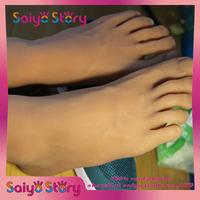 2014 New  Silicone Products ,Silicone Feet Life Size, Men Feet  Model Male, Feet Fetish, Boy Feet Model