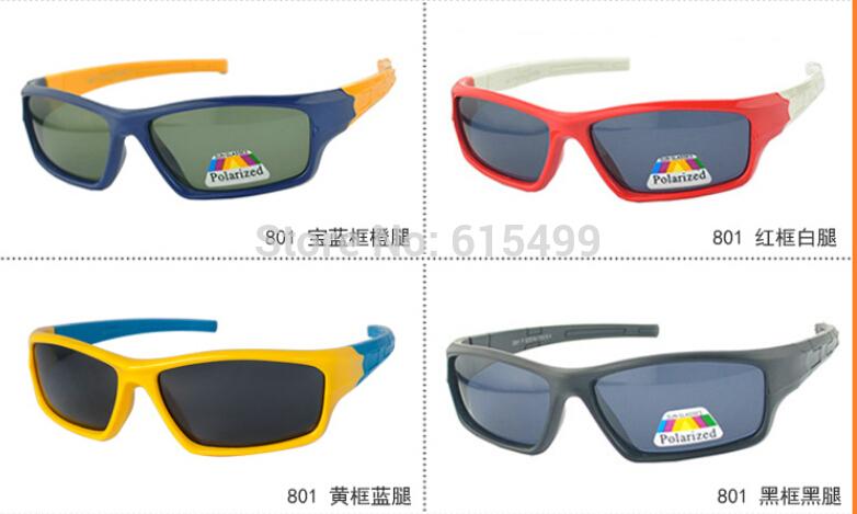 Brand Desinger Kids Sunglasses T801 Children Sun glasses Polarized Glasses Multi Colors Fashion Glasses 2014(China (Mainland))