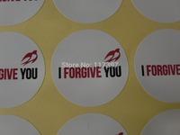 Kraft Paper with custom logo  White paper sealing stickers with custom logo,  Adhensive sticker 1000pcs/lot