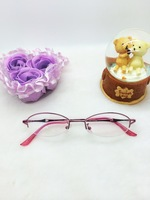 FASHION READING GLASSES FOR WOMAN 1012 PINK COLOR HMC