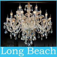 Modern Candle crystal chandelier Light Chandelier K9 Crystal light Living room bedroom Hotel Hall Candle lamp