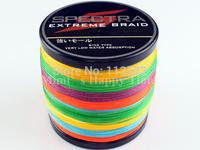 Hot sale 0.50mm 1094 Yard PE Dyneema Multicolor Braided Fishing Line 1000M 90LB Spectra Braid