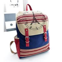 casual Canvas bolsas mochilas feminina school bags teenagers preppy  travel laptop sport backpack for women girls SJ0147