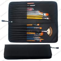 Brad Chain Brush Bag Oxford Plug Pencil Tool Bag Finishing Brush Pen Bag Pen Case Art Supplies School Supplies