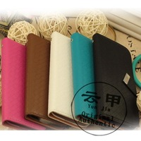 2014 new arrivals  high quality woven pattern leather flip cover case   For BBK vivo X5 Xplay X510w  free shipping