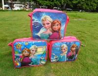 Frozen   Messenger  bags   Kids    Cartoon  Lunch bags       Ice  bags