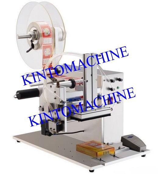 Semi-auto labeling machine manual labeling machine widely used table labeling machine packing machine(China (Mainland))