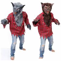 Hot sell 2014 Hallowmas costume COSPLAY fancy ball werewolf Little red riding hood Werewolves suit