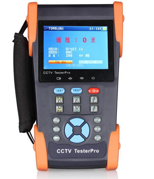 CCTV TESTER PRO 3.5 inch WOSHIDA HVT-2612T(VI) Video monitor CCTV tester camera tester(China (Mainland))
