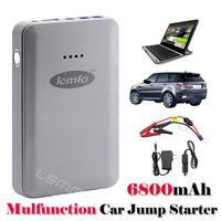 EPS GP-X6 Mini 6800mAh Jump Starter Multi-Function External Emergency Power Bank Battery Charger For Mobile Phone Car Start PC
