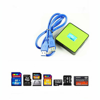 Promotion 3.0 Super-Speed 5GB/s All-In-One USB Card Reader Adapter M2 SD SDHC TF CF MS