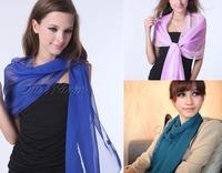 17 Colors High Quality Fashion Scarf  Chiffon Georgette Female Silk Shawl Long Soft  Wrap  Women Lady Scarves