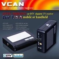 U.S.A auto mobile digital car ATSC TV receive box ATSC-MH2012