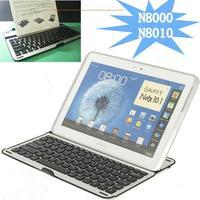 Tablet Aluminum Wireless Bluetooth Keyboard for Samsung Galaxy Note10.1'' N8000 N8010