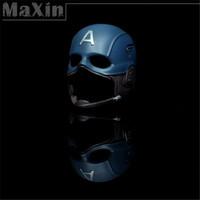 1:6 Model Toys The Avengers Scene Props Steve Rogers Captain America Helmet Hat Models Stage Property