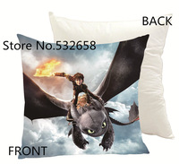 45*45  cushion cover new creative cartoon cute throw pillow cover  /frozen/ peppa pig/ how to train your dragon 2  pillow case