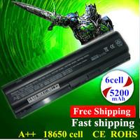 Hot!! New 5200mAh Replace Laptop Battery NBP6A174B1 NBP6A175 NBP6A175B1 WD548AA For HP 430 431 435 630 631 635 650 655 black