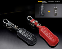 Leather Car Key Case For Mazda CX-5/ M3/M6/ Atenza/Axela CX5-7-5 Car  /Key Holder/Key Bag Free Shipping
