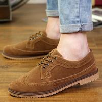 2014 Autumn fashion Brand men shoes mens shoes casual sneakers flat sneaker shoe Brogue brothergue free shipping